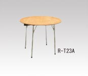 R-T23A ベニヤ丸テーブル Φ750・H700