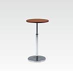R-T201DAJ カフェテーブル Ф600 H670-970