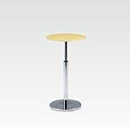 R-T201NAJ カフェテーブル Ф600 H670-970