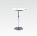 R-T201WAJ カフェテーブル Ф600 H670-970