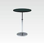 R-T202BAJ カフェテーブル Ф750 H670-970
