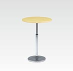 R-T202NAJ カフェテーブル Ф750 H670-970