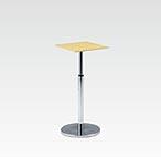 R-T300NAJ カフェテーブル 500角・H670-970