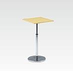 R-T301NAJ カフェテーブル 600角・H670-970