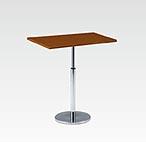 R-T305DAJ カフェテーブル W750・D450・H670-970