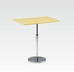 R-T305NAJ カフェテーブル W750・D450・H670-970